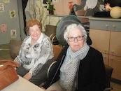 Anna Ameye en Paulette Vansteenkiste