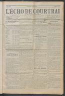 L'echo De Courtrai 1914-05-31