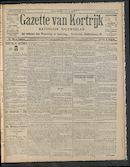 Gazette Van Kortrijk 1910-08-21