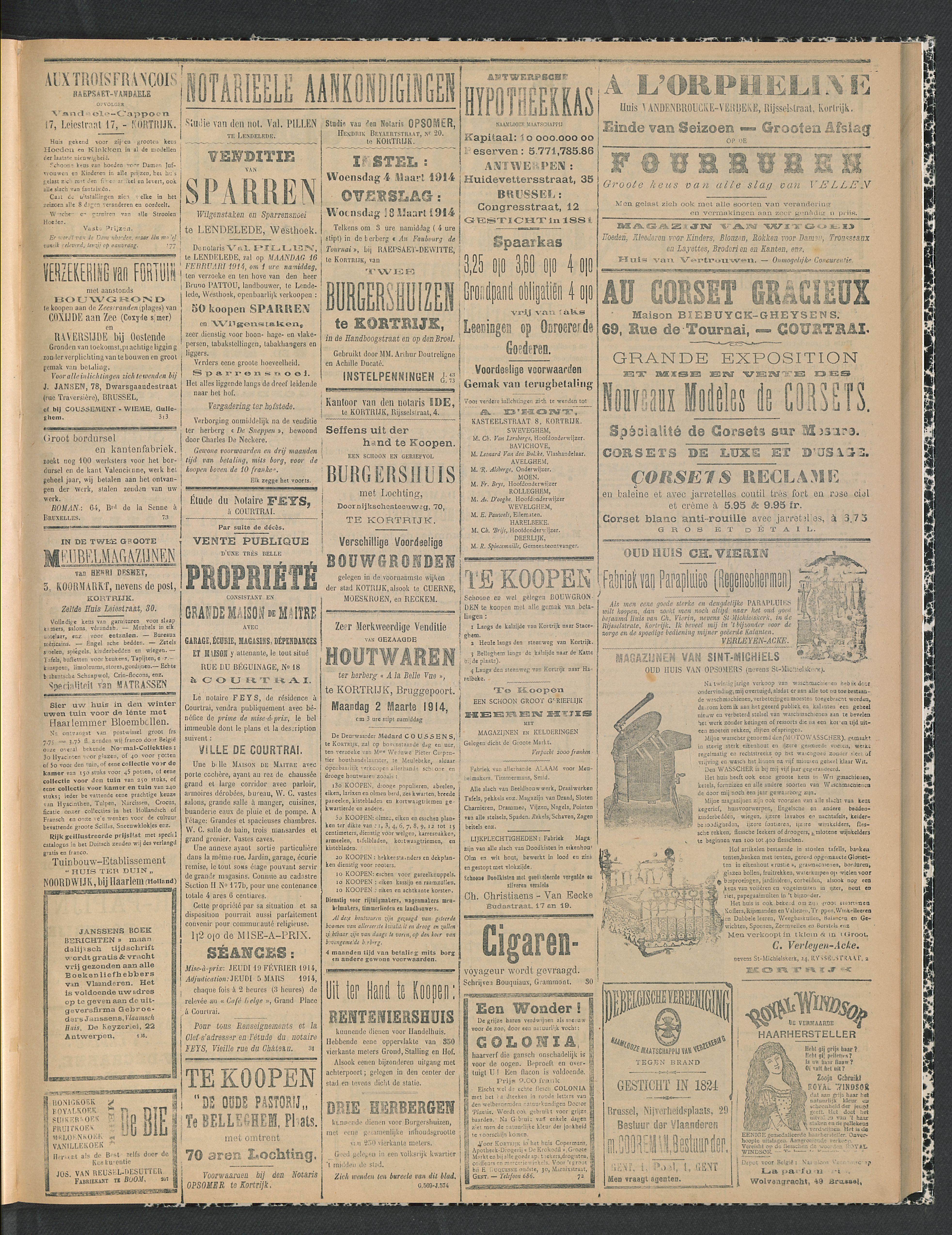 Gazette Van Kortrijk 1914-02-12 p3