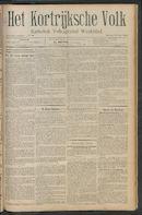 Het Kortrijksche Volk 1911-07-16